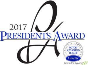 Malek Service Company - President's Award - 2017