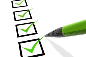 Air Conditioning Checklist